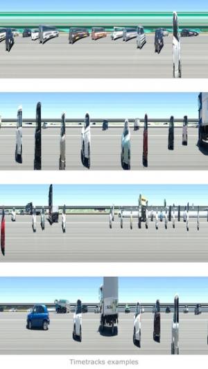 iPhone、iPadアプリ「Timetracks - スリット・スキャン・カメラ」のスクリーンショット 3枚目