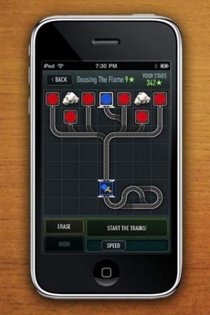 iPhone、iPadアプリ「Trainyard Express」のスクリーンショット 3枚目
