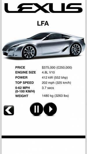iPhone、iPadアプリ「Sports Car Engines Free」のスクリーンショット 4枚目