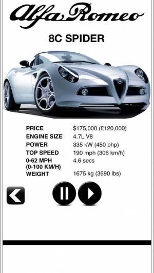 iPhone、iPadアプリ「Sports Car Engines Free」のスクリーンショット 5枚目