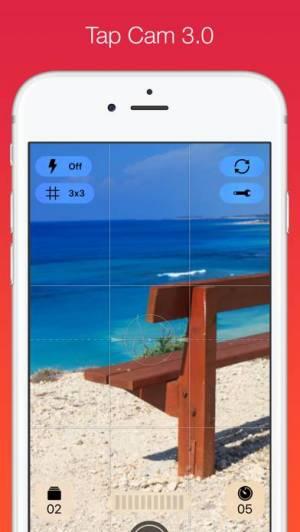 iPhone、iPadアプリ「Tap Cam – ライブフィルターと効果」のスクリーンショット 1枚目