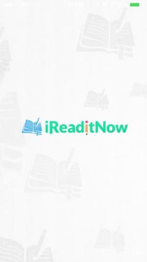 iPhone、iPadアプリ「iReadItNow」のスクリーンショット 1枚目