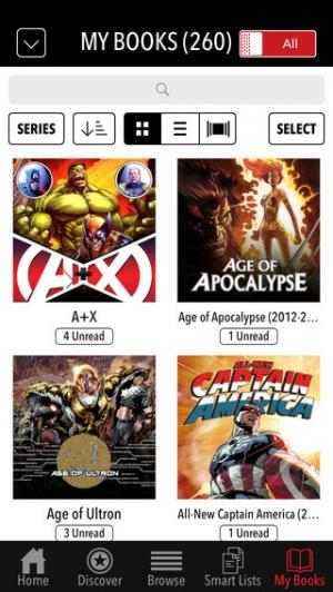 iPhone、iPadアプリ「Marvel Comics」のスクリーンショット 4枚目