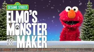 iPhone、iPadアプリ「Elmo's Monster Maker」のスクリーンショット 1枚目