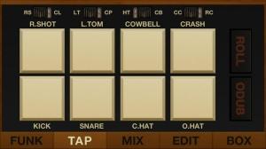 iPhone、iPadアプリ「FunkBox Drum Machine」のスクリーンショット 3枚目