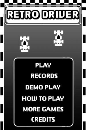 iPhone、iPadアプリ「RETRO DRIVER FREE」のスクリーンショット 3枚目