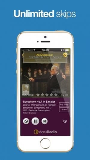 iPhone、iPadアプリ「AccuRadio - Free Music Radio」のスクリーンショット 3枚目