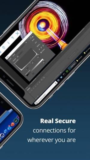 iPhone、iPadアプリ「VNC Viewer - Remote Desktop」のスクリーンショット 2枚目