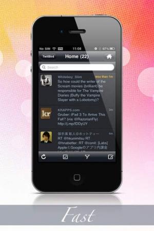 iPhone、iPadアプリ「TwitBird free for Twitter」のスクリーンショット 3枚目