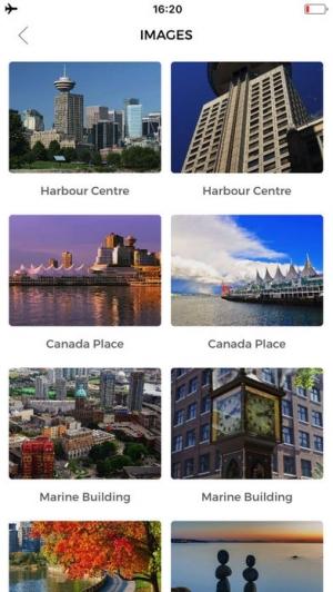 iPhone、iPadアプリ「バンクーバー 旅行 ガイド &マップ」のスクリーンショット 3枚目