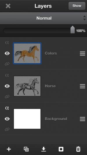 iPhone、iPadアプリ「ArtStudio - Draw and Paint」のスクリーンショット 4枚目