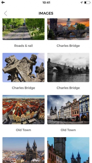 iPhone、iPadアプリ「プラハ 旅行 ガイド &マップ」のスクリーンショット 3枚目