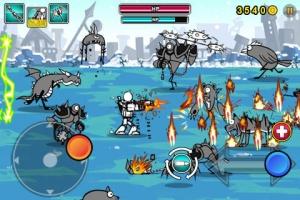 iPhone、iPadアプリ「Cartoon Wars: Gunner Lite」のスクリーンショット 3枚目