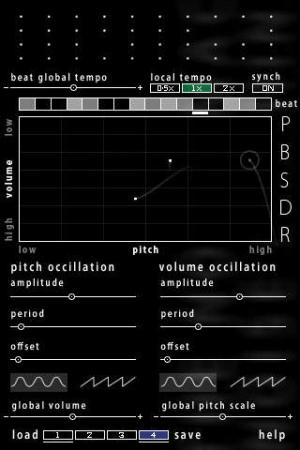 iPhone、iPadアプリ「A Noise Machine」のスクリーンショット 1枚目