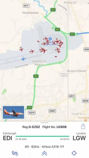 iPhone、iPadアプリ「Plane Finder ⁃ Flight Tracker」のスクリーンショット 4枚目