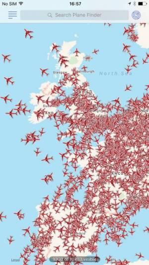 iPhone、iPadアプリ「Plane Finder ⁃ Flight Tracker」のスクリーンショット 5枚目
