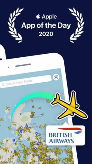 iPhone、iPadアプリ「Plane Finder ⁃ Flight Tracker」のスクリーンショット 2枚目