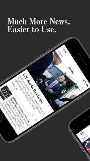 iPhone、iPadアプリ「The Wall Street Journal.」のスクリーンショット 1枚目