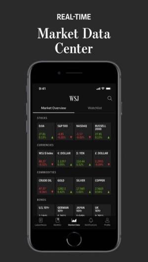 iPhone、iPadアプリ「The Wall Street Journal.」のスクリーンショット 4枚目