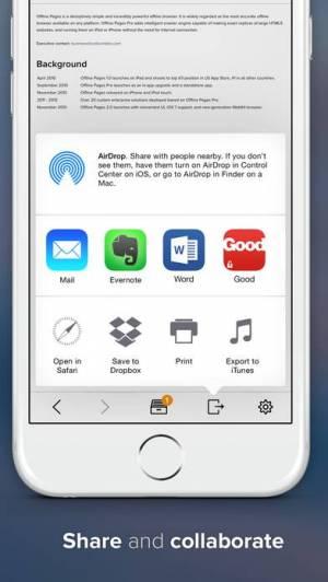 iPhone、iPadアプリ「Offline Pages」のスクリーンショット 4枚目