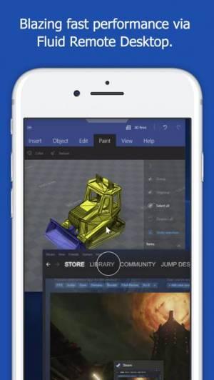 iPhone、iPadアプリ「Jump Desktop (RDP, VNC, Fluid)」のスクリーンショット 5枚目