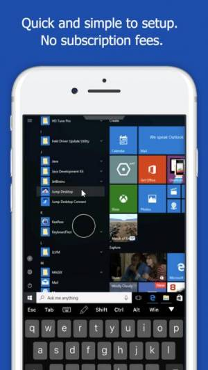 iPhone、iPadアプリ「Jump Desktop (RDP, VNC, Fluid)」のスクリーンショット 2枚目