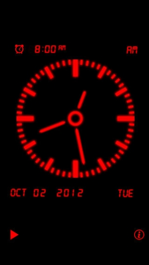 iPhone、iPadアプリ「アラームの音楽時計」のスクリーンショット 5枚目