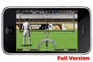 iPhone、iPadアプリ「ペナルティーキック(サッカーPK戦) PSO Lite」のスクリーンショット 2枚目