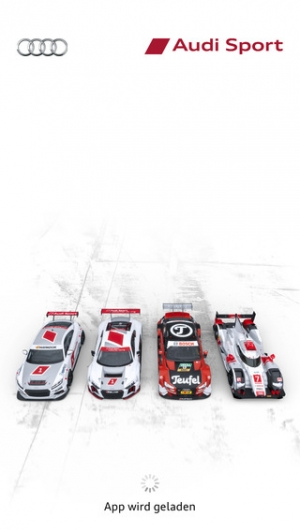 iPhone、iPadアプリ「Audi Sport」のスクリーンショット 1枚目