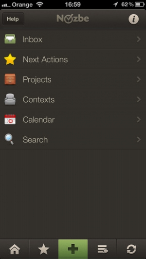 iPhone、iPadアプリ「Nozbe Todo」のスクリーンショット 1枚目