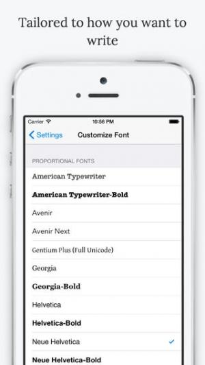 iPhone、iPadアプリ「Nebulous Notes」のスクリーンショット 5枚目