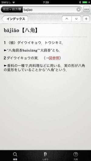 iPhone、iPadアプリ「中日・日中辞典」のスクリーンショット 5枚目