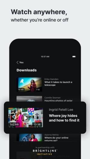 iPhone、iPadアプリ「TED」のスクリーンショット 3枚目