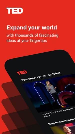 iPhone、iPadアプリ「TED」のスクリーンショット 1枚目