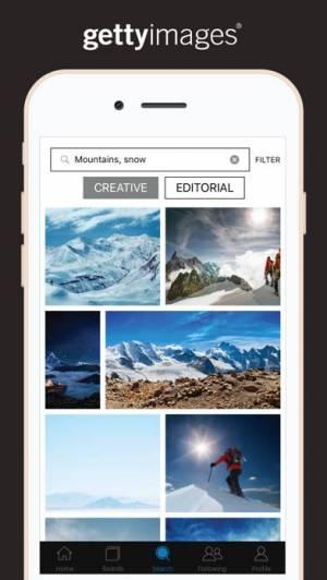 iPhone、iPadアプリ「Getty Images」のスクリーンショット 3枚目