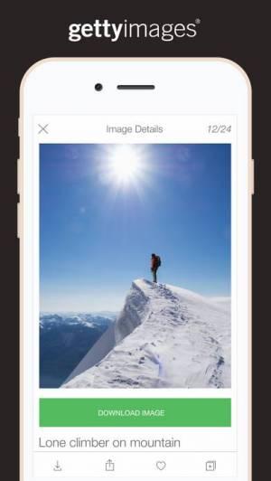 iPhone、iPadアプリ「Getty Images」のスクリーンショット 4枚目