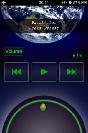 iPhone、iPadアプリ「Volume Dial」のスクリーンショット 1枚目