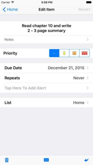 iPhone、iPadアプリ「List!」のスクリーンショット 3枚目