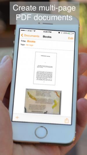 iPhone、iPadアプリ「Genius Scan - PDF Scanner」のスクリーンショット 3枚目