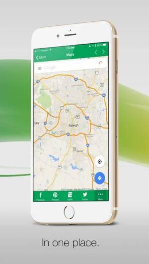 iPhone、iPadアプリ「G-Whizz! ソーシャル - の#1アプリブラウザ!」のスクリーンショット 2枚目