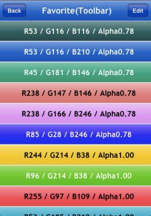 iPhone、iPadアプリ「Colorful」のスクリーンショット 4枚目
