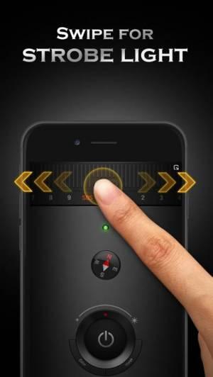 iPhone、iPadアプリ「Flashlight Ⓞ」のスクリーンショット 3枚目