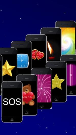 iPhone、iPadアプリ「懐中電灯(GoodTorch)無料」のスクリーンショット 2枚目