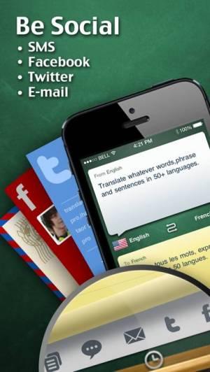 iPhone、iPadアプリ「iHandy 翻訳機」のスクリーンショット 4枚目