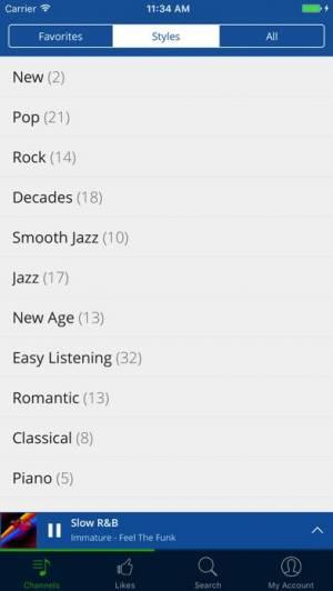 iPhone、iPadアプリ「RadioTunes」のスクリーンショット 4枚目