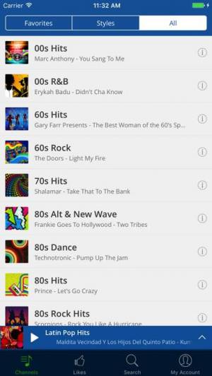 iPhone、iPadアプリ「RadioTunes」のスクリーンショット 2枚目