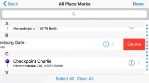 iPhone、iPadアプリ「AB Contact Map」のスクリーンショット 4枚目