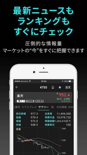 iPhone、iPadアプリ「iSPEED - 楽天証券の株アプリ」のスクリーンショット 4枚目