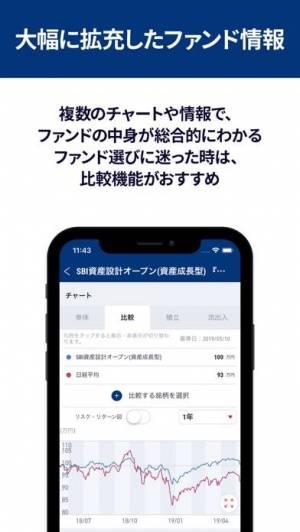 iPhone、iPadアプリ「My 投資信託 (モーニングスター)」のスクリーンショット 2枚目