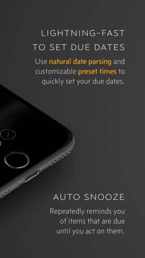 iPhone、iPadアプリ「Due 〜 リマインダー、タイマー、アラーム」のスクリーンショット 4枚目